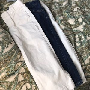 Lot of three pair pants boys size 3T